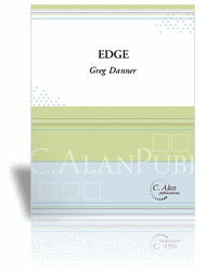 Edge (score & parts) Sheet Music by Greg Danner