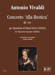 "Concerto ""Alla Rustica"" RV 151 Sheet Music by Antonio Vivaldi"