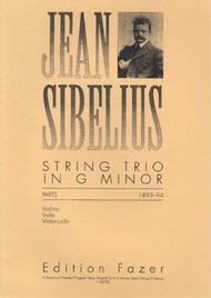 String Trio In G Minor Sheet Music by Jean Sibelius
