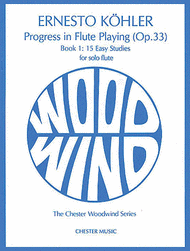 Progress in Flute Playing Op.33 Book 1 Sheet Music by Ernesto Kohler