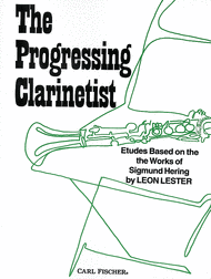 The Progressing Clarinetist Sheet Music by Sigmund Hering