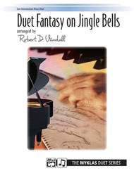 Duet Fantasy on Jingle Bells Sheet Music by Robert D. Vandall