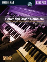 Hammond Organ Complete Sheet Music by Dave Limina
