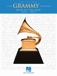 The Grammy Awards Song of the Year 1990-1999 Sheet Music by Various