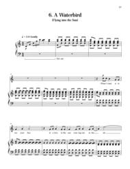 A Waterbird from The Sun is Love Sheet Music by Gwyneth W. Walker