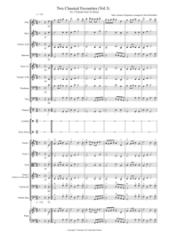 2 Classical Favourites for School Orchestra (volume three) Sheet Music by Marc-Antoine Charpentier