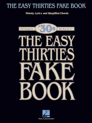 The Easy 1930s Fake Book Sheet Music by Various