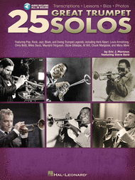25 Great Trumpet Solos Sheet Music by Eric J. Morones