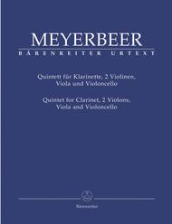 Quintett E flat major Sheet Music by Giacomo Meyerbeer