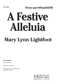 A Festive Alleluia Sheet Music by Mary Lynn Lightfoot