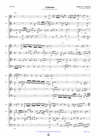 Canzona (Nb. 4) Sheet Music by Giovanni Gabrieli