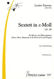 Sextett c-Moll op. 40 Sheet Music by Louise Farrenc