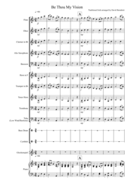 Be Thou My Vision for School Concert Band Sheet Music by Traditional Irish