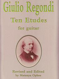 Ten Etudes Sheet Music by Giulio Regondi