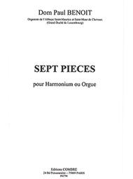 Pieces (7) Sheet Music by Dom Paul Benoit