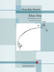 Eliza Aria from Wild Swans Suite Sheet Music by Elena Kats-Chernin