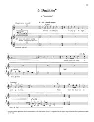Dualities from The Sun is Love Sheet Music by Gwyneth W. Walker