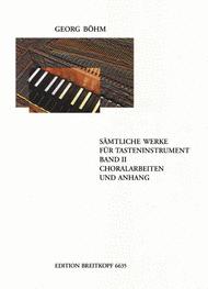 Complete Keyboard Works Sheet Music by Georg Bohm