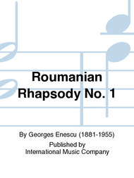 Roumanian Rhapsody No. 1 Sheet Music by Georges Enescu
