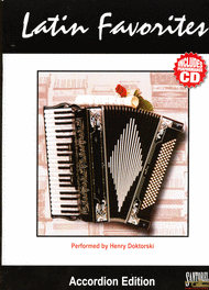 Latin Favorites for Accordion with CD Sheet Music by Henry Doktorski