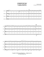 Chopsticks Variations Sheet Music by Euphemia Allen