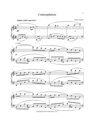 CONTEMPLATION Sheet Music by CRAIG URQUHART