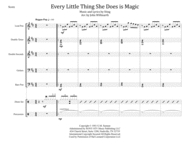 Every Little Thing She Does Is Magic for Steel Band Sheet Music by Sting