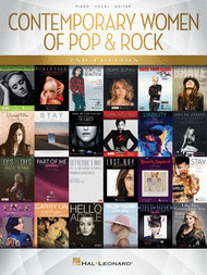 Contemporary Women of Pop & Rock - 2nd Edition Sheet Music by Various