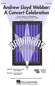 Andrew Lloyd Webber: A Concert Celebration (Medley) - ShowTrax CD Sheet Music by Andrew Lloyd Webber