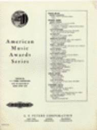 Supplication - Processional Sheet Music by Henry Cowell