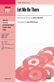 Let Me Be There Sheet Music by John Rostill