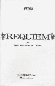 Messa di Requiem Sheet Music by Giuseppe Verdi