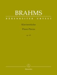 Klavierstuecke op. 119 Sheet Music by Johannes Brahms