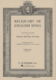 Reliquary of English Songs - Volume 1 Sheet Music by Various