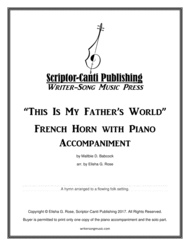 This Is My Father's World - French Horn Sheet Music by Maltbie D. Babcock