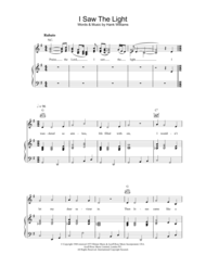 I Saw The Light Sheet Music by Hank Williams