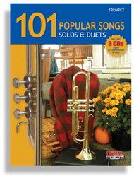 101 Popular Songs for Trumpet * Solos & Duets * with 3 CDs Sheet Music by Various