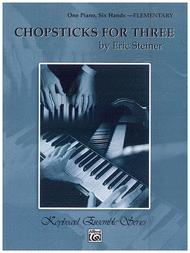 Chopsticks For Three - One Piano