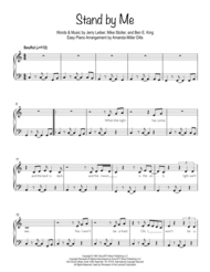 Stand By Me (Easy Piano) Sheet Music by Ben E. King