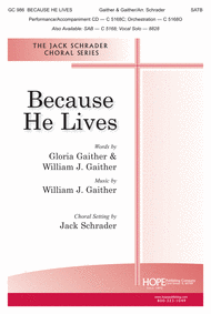 Because He Lives Sheet Music by William
