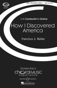 How I Discovered America Sheet Music by Francisco J. Nunez
