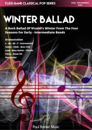 Vivaldi's 4 Seasons Winter Ballad (Flexi-Band Score and Parts) Sheet Music by Vivaldi