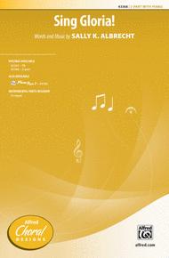 Sing Gloria! Sheet Music by Sally K. Albrecht