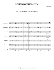 Legends of the Pacific Sheet Music by Frank Gulino