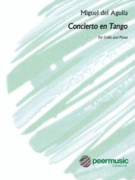 Concierto en Tango Sheet Music by Miguel Del Aguila