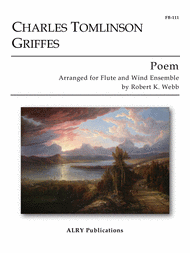 Poem for Flute and Concert Band Sheet Music by Griffes