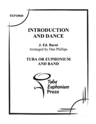 Introduction and Dance Sheet Music by J. Edouard Barat