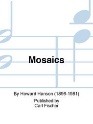 Mosaics Sheet Music by Howard Hanson