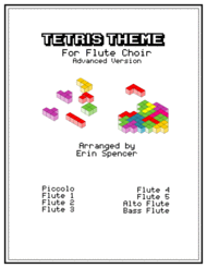 Tetris Theme for Advanced Flute Choir Sheet Music by Traditional Russian