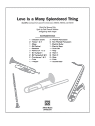 Love Is a Many Splendored Thing Sheet Music by Sammy Fain